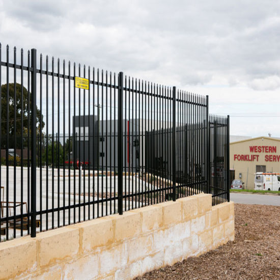 China Factory Ornamental Fence Spraying pictures & photos