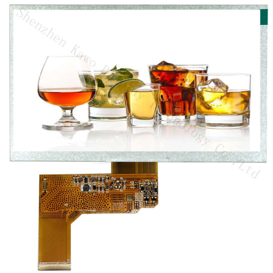 Hot Sale 7 Inch TFT Display 40RGB LCD Touch Screen Resolution 800480