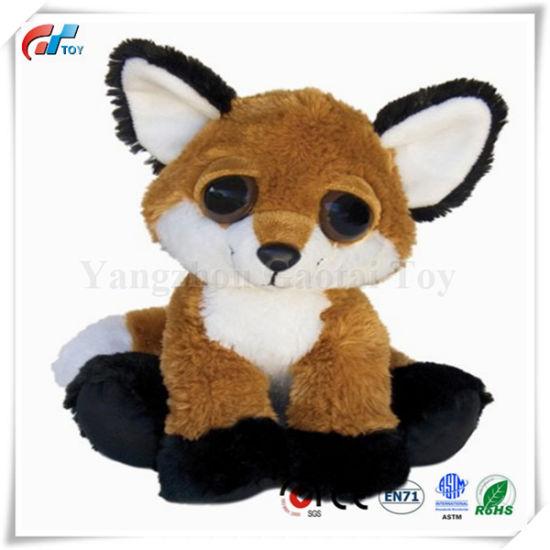 10 Inches Feggan The Fox Dreamy Eyes Plush Fox Toy