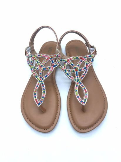 Fashion Flat Summer Sandals 2018 for Women Indian Style Ladies Sandals pictures & photos
