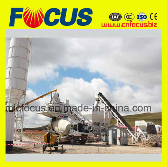 50~60m3/H Modular Mobile Concrete Mixing Plant for Roads Bridges pictures & photos