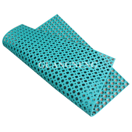 Grass Rubber Mats Anti-Bacteria Rubber Matting (GM0404) pictures & photos