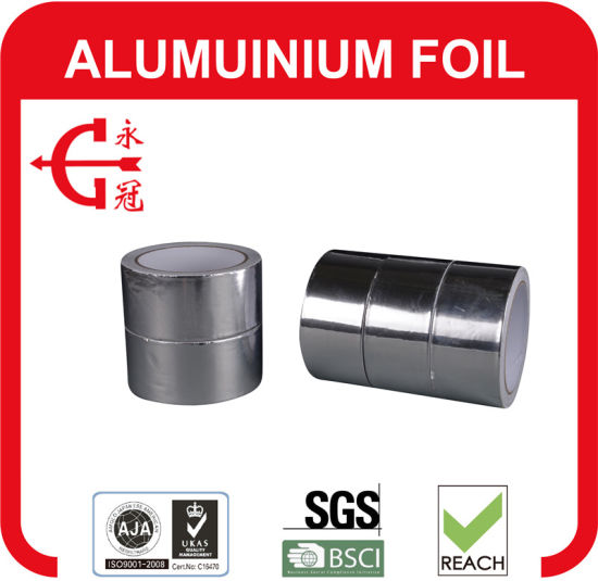 Reinforced Alu Foil Tape Factory Price Aluminum Foil Fiberglass Cloth Tape pictures & photos