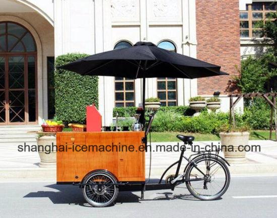 China Hot Sale Fast Food Tricycle Coffee Vending Cart Coffee Bike