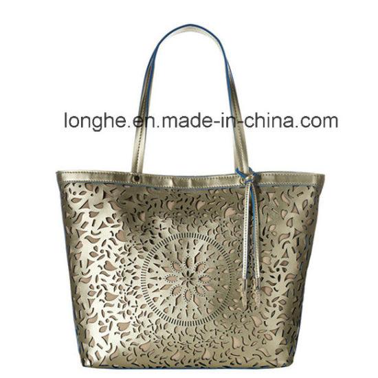 e7de3b1d5814 China Hollow out Laser Cut Design Ladies Tote Bag (ZXS0074) - China ...