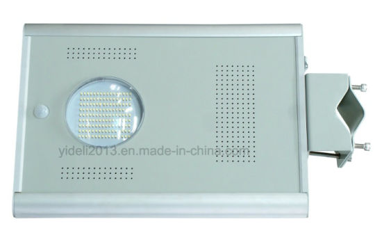 Outdoor Luminaria All in One / Integrated LED Solar Powered Street Light with Motion Sensor (YDL-5W-200W) pictures & photos
