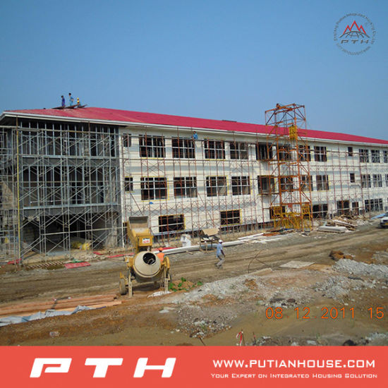 Prefabricated Well Designed High Quality Steel Structure Building pictures & photos