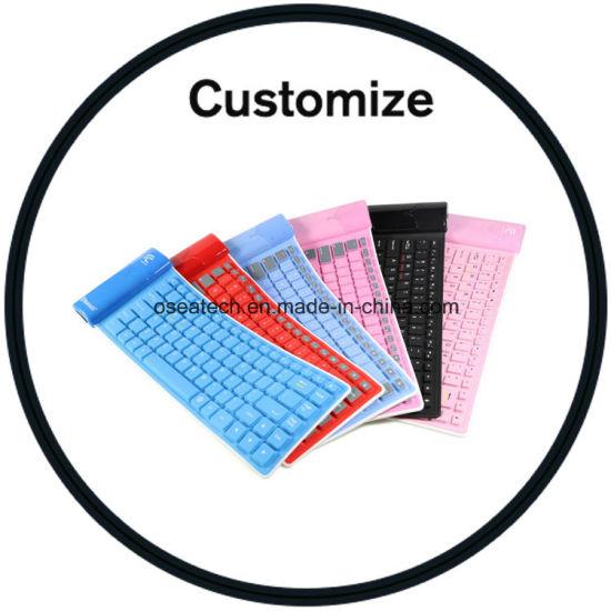 Custom Logo Foldable Bluetooth Keyboard