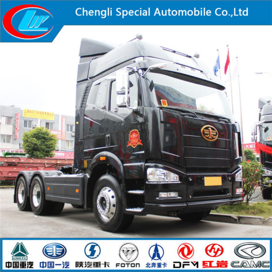 China Faw 12 Speed Transmission 6X4 Tractor Truck Supplier