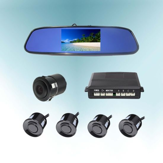 5inch/4.3inch Video Parking Sensor, Reversing Parking Assistance Kit pictures & photos
