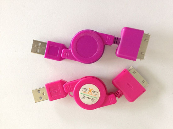 Colorful USB 85cm Flat Micro Cable USB 3.0 Data Link Cable for Samsung /MP3/MP4 pictures & photos