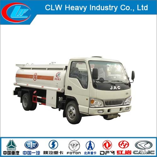 JAC Mini Fuel Tanker Truck 4*2 Mobile Fuel Tank Truck pictures & photos