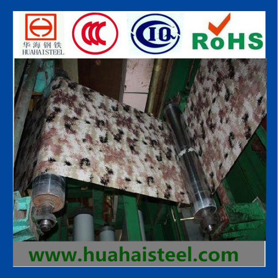 Printed Color-Coated Galvanized Steel Coil (PPGI) pictures & photos