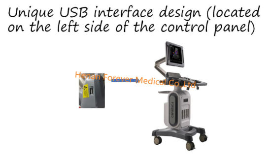 Hospital Cheap Trolley Color Doppler pictures & photos