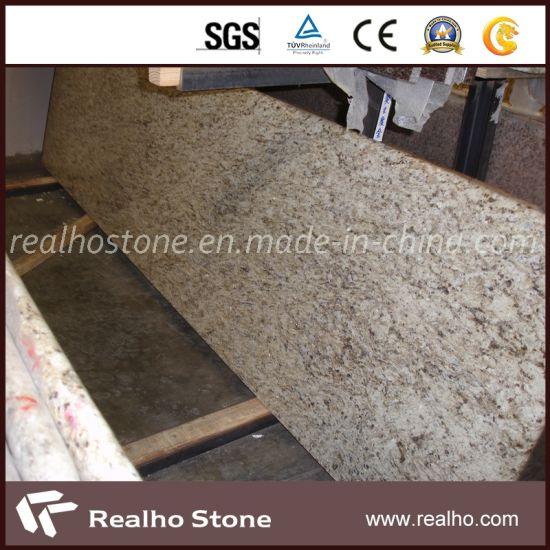 Giallo Ornamental Granite Vanity Top/Countertop (RHCA-032)
