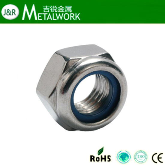 Stainless Steel 304 / 316 Hex / Hexagon Nylon Lock Nut (DIN985) pictures & photos