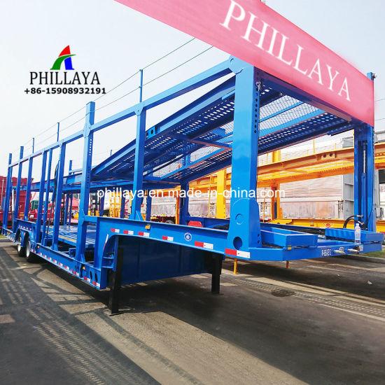 5- 10 Transport Carrier Truck Semi Car Hauler Trailer on Sale