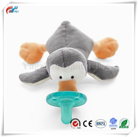 Baby Penguin Soft Plush Pacifier Toy