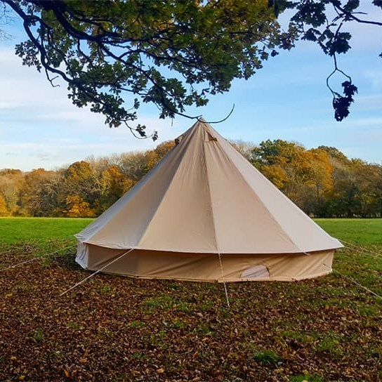 Romantic Camping and Glamping Canvas Bell Tents 3m 4m 5m 6m