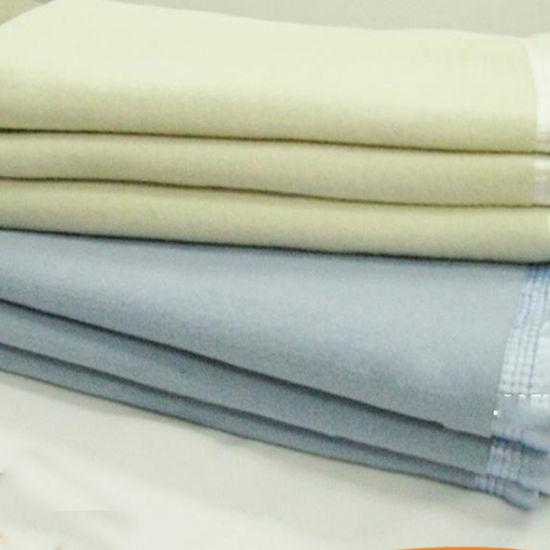 Stock Acrylic Martex Super Soft Fleece Queen Linen Blanket (DPF10326)