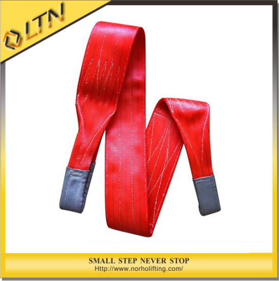 4t Double Ply Polyester Web Slings / Lifting Sling