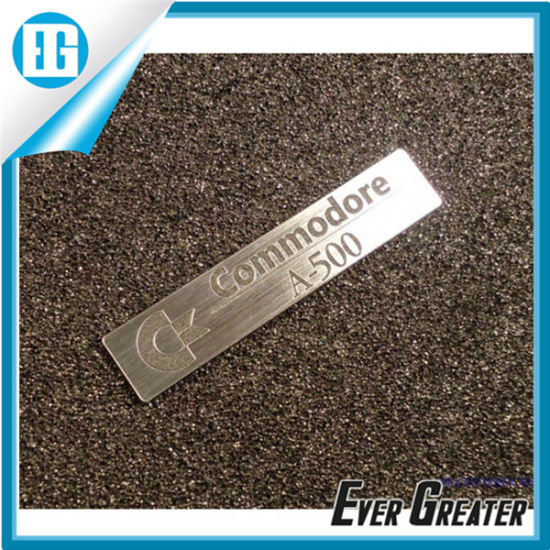 Customized High Quality Metal Label Sticker