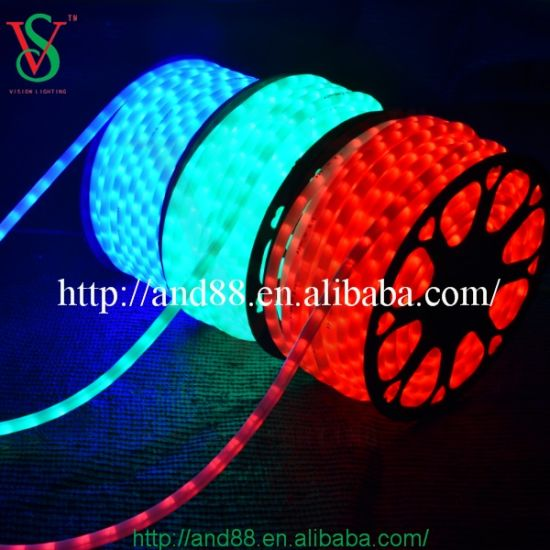 China round waterproof led flex hose rope light for outdoor round waterproof led flex hose rope light for outdoor decoration mozeypictures Choice Image