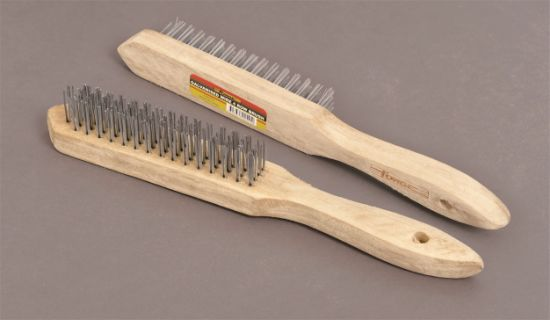 Power Tools Accessories Wire Brush 4 Row Industrial Brushes pictures & photos