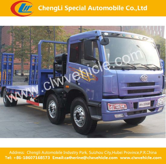 Tri Axles Flatbed Wrecker/Flatbed Transportation Trucks