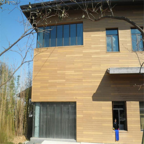 Outdoor Wood Plastic Composite Wall Panel/ WPC Wall Cladding/Exterior Wall  Covering