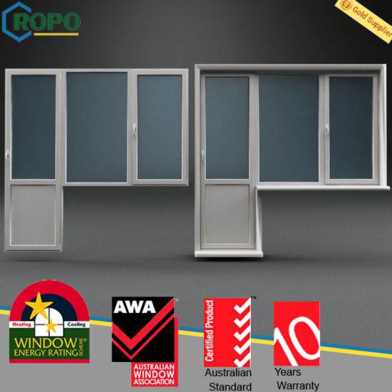 China Upvc Profile Glass Panel Interior Swing Door Rp1423 China