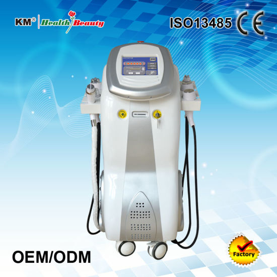 Non-Surgical Liposuction Cavitation Vacuum RF Cool Shaping Machine pictures & photos