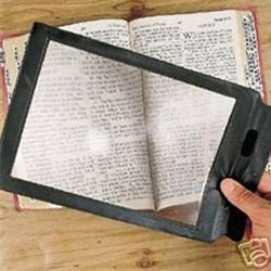 3X Full Page Magnifier Sheet Fresnel Lens (HW-300B) pictures & photos