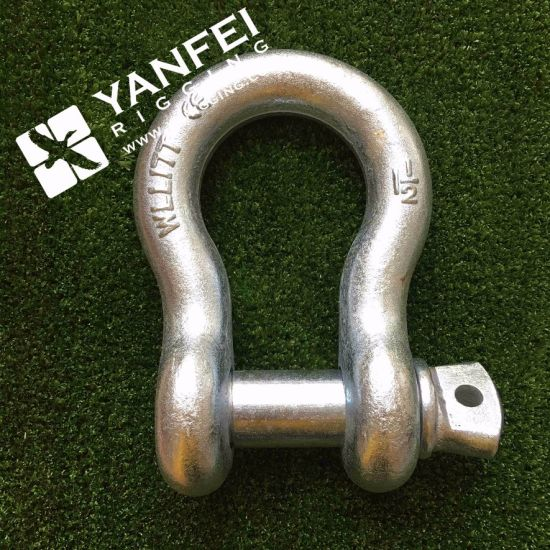 Best Price Bolt and Nut Safety Shackle with Pin pictures & photos