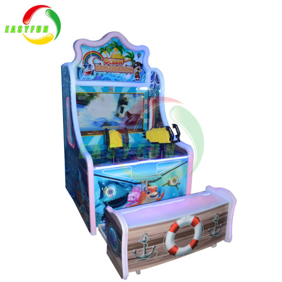 china kids crazy water children indoor coin operated laser shooting