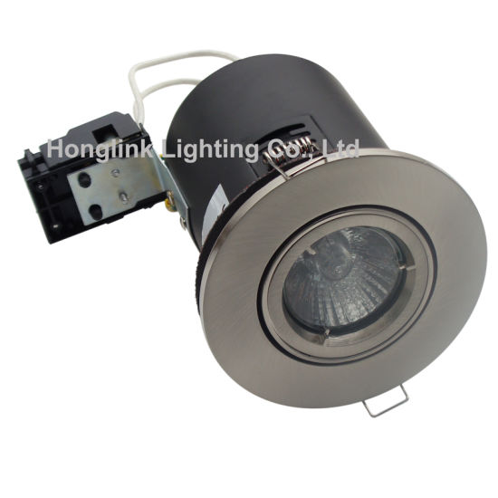 Adjustable Angle BS476 Fire Rated GU10 COB LED Recessed Downlight