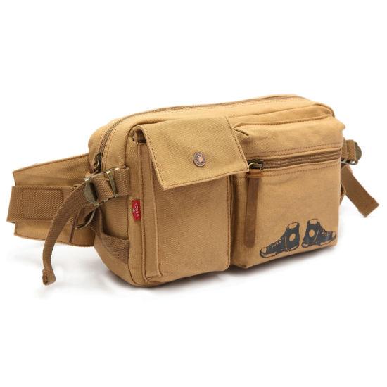 New Design Canvas Waterproof Outdoor Waist Bag (RS-H9041)
