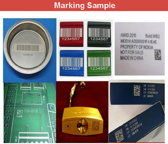 Portable Fiber Laser Marking Machine for Plastic USB Flash Disk pictures & photos
