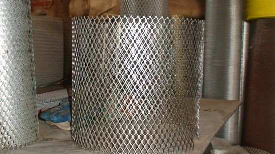 """4""""*8"""" Diamond Hole Galvanized Expanded Metal Mesh Anping Facotry"""