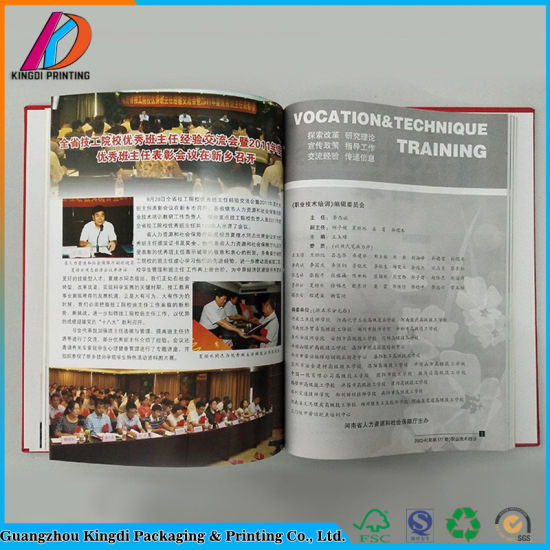 China Full Color Customized Hardcover Book Printing - China ...