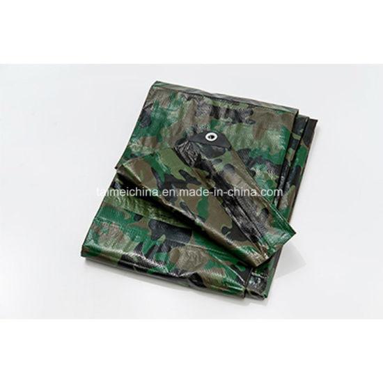Heavy Duty Tent Fabric Camouflage Tarpaulin