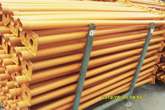 Scaffolding Prop Painting&Galvanized for Construction