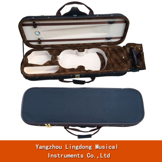 Nice Oblong Shape Custom Handamde Hard Violin Case 1/4-4/4