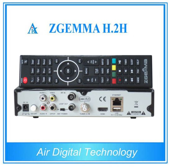 Premeir Broadcasting Equipment Zgemma H. 2h Combo DVB S2 + DVB T2/C pictures & photos