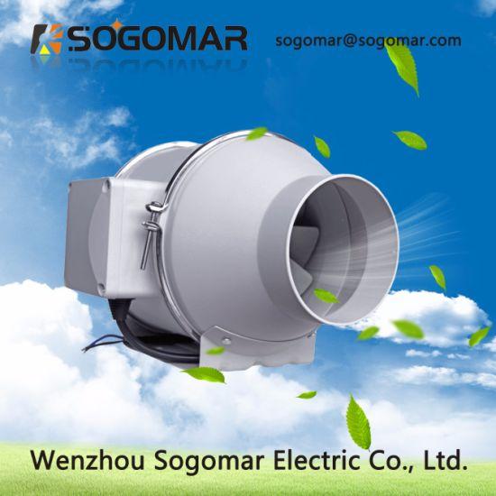 New Design Professional Fresh Air Silent Inline Tube Fan SFP-100