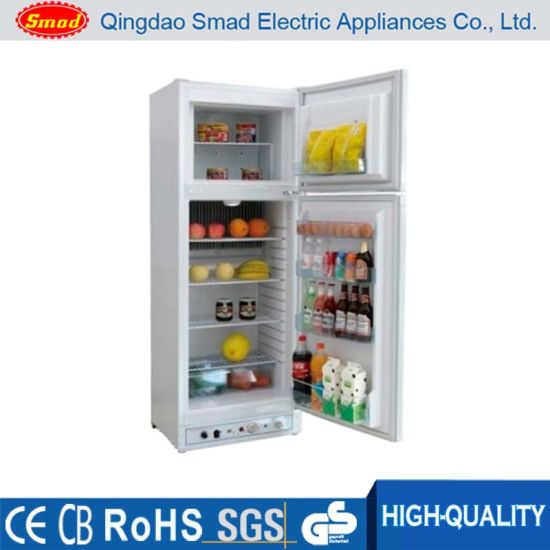 china double door electrical kerosene absorption refrigerator