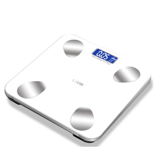 Commercial Body Fat Bathroom Scale Sensor Bluetooth