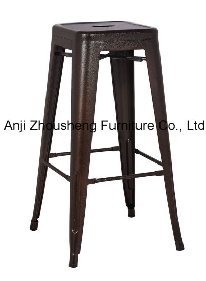 China Replica Tolix Bar Stool Metal Kitchen Cafe Home Dining Chair