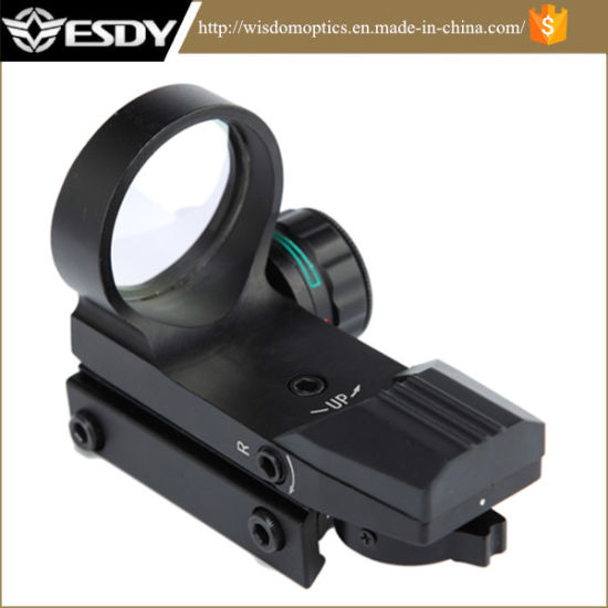 Illumination Red and Green DOT with 4 Reticles for Hunting Air Rifle Shotgun