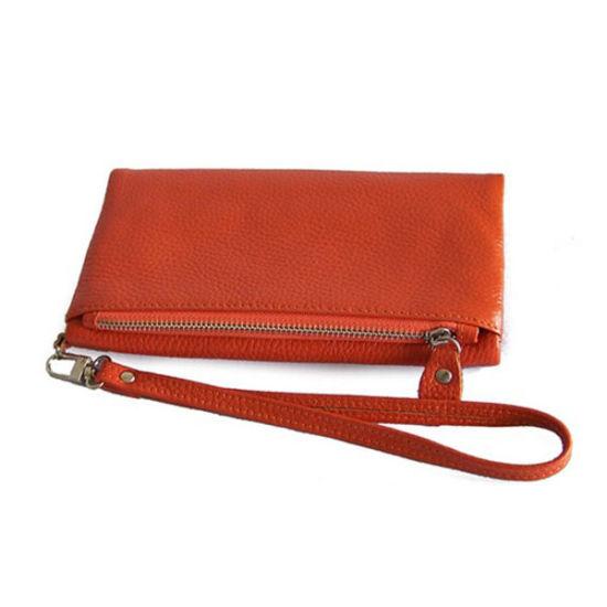 Plain Design Promotional Gift Coin Bag Genuine Leather Purse Wallet